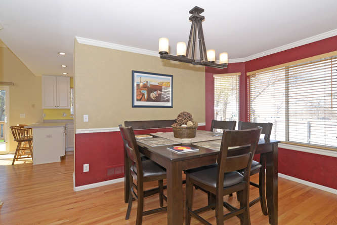 Kitchen at 11171 Bryant Ct Westminster, Co 80234, new listing in Cedar Bridge