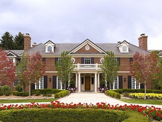 Peyton Manning Broncos Quarterbacks House in Cherry Hills Village in Denver Colorado